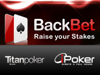 Titan Poker Back Bet