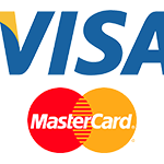 Visa and Mastercard Logos
